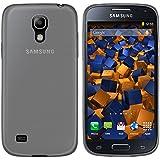 mumbi UltraSlim Hülle für Samsung Galaxy S4 mini Schutzhülle transparent schwarz (Ultra Slim - 0.55 mm)