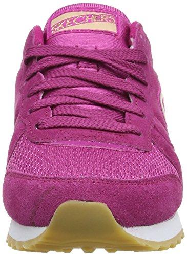 Skechers OG 85GoldN Gurl, Sneakers basses femme Rose - Pink (FUS)