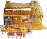 Mattel V1836 Princesas Disney - La casa de Blancanieves y los 7 enanitos - Disney - amazon.es