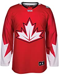 Team Canada 2016World Cup of Hockey Adidas Men 's Premier Red Jersey Camiseta, large