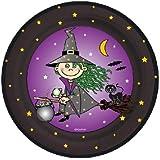 Pappteller Kleine Hexe