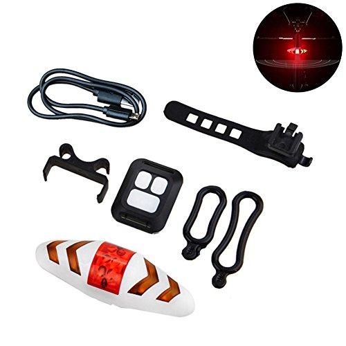 Cracklight Fahrrad Rücklicht Funkfernsteuerung Mountainbike 2-in-1 Blinker Rücklicht Riding Light Hohe Helligkeit USB Wiederaufladbare Fahrrad Rückleuchten