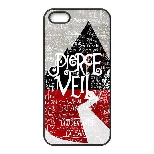 "Pour Apple iPhone 5 5S ""Coque Pierce The Veil, protection Case Protective Cover Handytasche Accessoires pour Apple iPhone 5/5S"