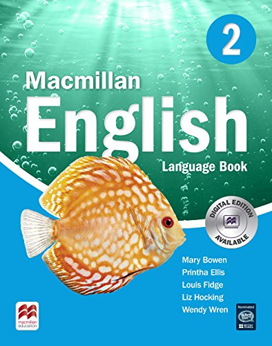 MACMILLAN ENGLISH 2 Language Book - 9781405013680