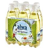 alwa ISO Spritzer Apfel, isotonisches Apfel-Erfrischungsgetränk, ohne künstliche Süßungsmittel, 3000 ml