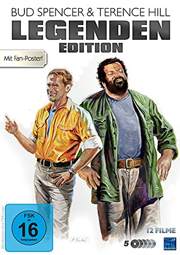 Bud Spencer & Terence Hill - Legenden Edition / Limitierte Auflage [5 DVDs]