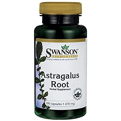 Swanson Astragalus Root 470mg, 100 Capsules by Swanson Health Products