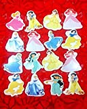 #5: Evisha colourful princess/barbie/jasmine erasers for school going kids/children/birthday return gift pack of 16 erasers