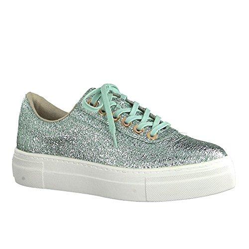 Tamaris Sneaker Pour Les Femmes 1-23748-20-768 De Mint Turquoise