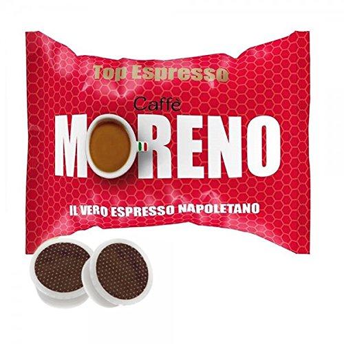 Caffe 'Moreno Kaffeepads Kapseln Top Espresso Espresso Point 400