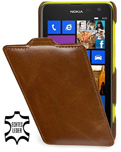 dertasche Ultraslim kompatibel mit Nokia Lumia 625, Cognac ()