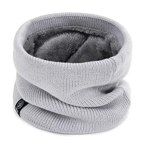 SimpLife Unisex Winter Schlauchschal Unendlichkeit Kreis Loop Schal Soft Knit Schals Halswärmer Neckchief Halstücher, Baumwolle und Acryl, EINWEG Verpackung Soft Knit Schal