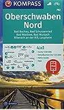 KOMPASS Wanderkarte Oberschwaben Nord: 4in1 Wanderkarte 1:50000 mit Aktiv Guide und Detailkarten inklusive Karte zur offline Verwendung in der ... (KOMPASS-Wanderkarten, Band 782) -