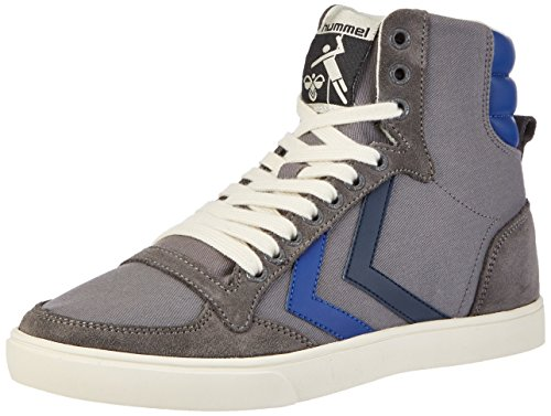 Hummel Unisex-Erwachsene Sl Stadil Duo Canvas High Top Grau (Castle Rock)