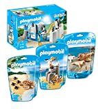 Playmobil 9062 Piscina pingüino con 9069 Sello con los bebés,...