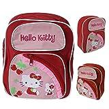 TE-Trend 29129-Hello Kitty-Mochila, Color Rojo