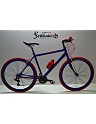 Bicicleta de carretera bicicleta carretera bicicleta de carreras bicicleta hombre híbrida 21V Negro