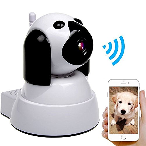 IP Camera,Wireless WiFi Security Camera 720P HD Baby Monitor Pet Dog WiFi IP Cam Pan/Tilt with Motion Detection Instant Alert,Two-Way Audio,Day/Night Vision