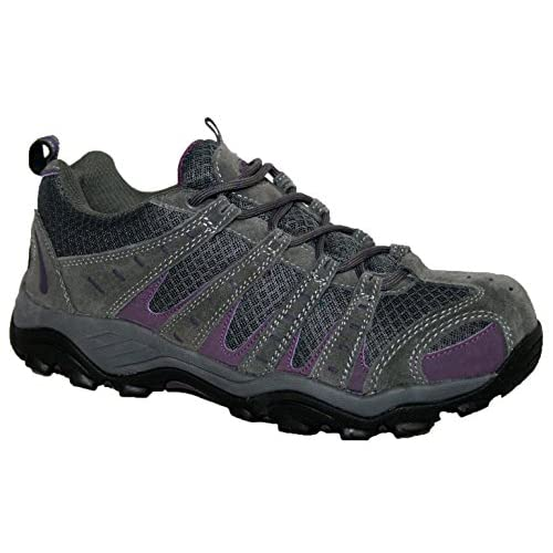 LADIES MONTANA/PINE FULLY WATERPROOF WALKING/HIKING LACE UP TRAINER SHOE