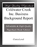 Coldwater Creek Inc. Business Background Report