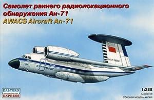 Arca Modelos ee288051: 288Escala Antonov AN-71Ruso AWACS aeronaves plástico Modelo