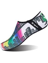 WOWEI Zapatos de Agua Antideslizante Secado Rápido Calcetines de Piel  Descalza Escarpines de Verano Deportes Acuáticos para Playa… 799c0795f41