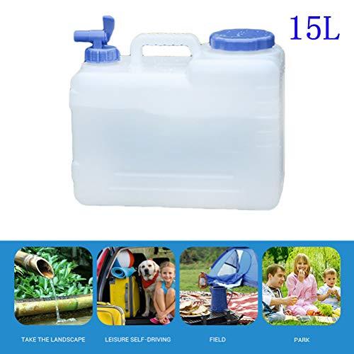 Tragbare Outdoor 10L 15L Große Kapazität Wasser Behälter Wasser Tank Eimer Camping Picknick Fahren Wasserkocher Mit Wasserhahn -