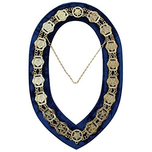 oes-patron-kette-halsband-vergoldet-dunkelblau-ruckseite-marke-neu
