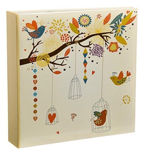 ARPAN Memoalbum im Art-Deco-Stil, 4 x 6 x 10 x 15 cm, für 200 Fotos, 23 x 4 x 23 cm (Scrapbook-papier Inspirierende)
