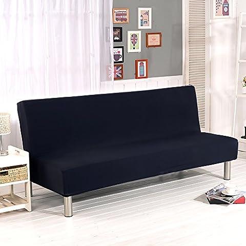 Sundlight housse de canapé stretch universelle pour maison bureau hôtel restaurant apte à canapé pliable sans bras 180-210 cm-B