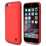 ROOP iPhone 6/6S Akku Case Schutzhülle Ultra Slim Schutzhülle mit Ladekabel High Capacity 2.000 mAh Akku für iPhone 6/6S