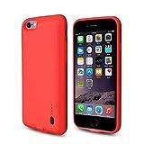 ROOP iPhone 6/6S Akku Case Schutzhülle Ultra Slim Schutzhülle mit Ladekabel High Capacity 2.000...