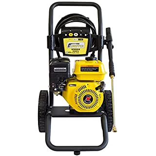 WASPPER ✦ Petrol Pressure Washer 3000 PSI ✦ 196cc Petrol Engine Powered High Pressure Portable Jet Sprayer W3000HB ✦ Premium Annovi Reverberi Pump Power, Quality Car & Patio Cleaner