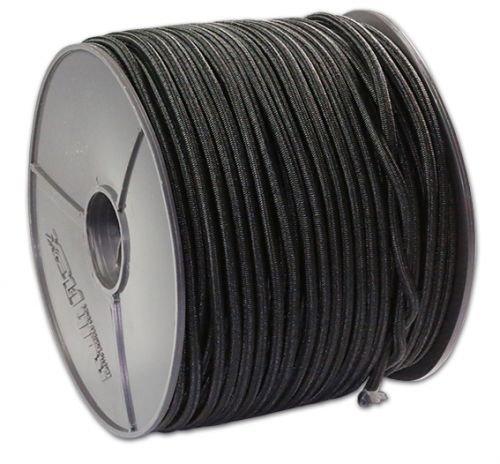 100 M expander recouvert de 8 mm de pE-noir/gummispannseil gummispanner terassenbefestigung///tendeur élastique pour voile d'ombrage regards spanner verspannest tendeur///crochets de fixation transparents en crochets en plastique/métaL/loule crochet spiralé/au/en