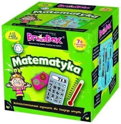 BrainBiox - Matematyka (polonais) - Maths - - - 011152 - Vert Jeux de société B00GSGNDNG 87b71e