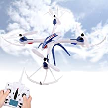 JJRC H16–1Tarántula X66-assi giroscopio 4-canali 2.4GHz Radio Control Professional drones cuadricóptero (Blue)