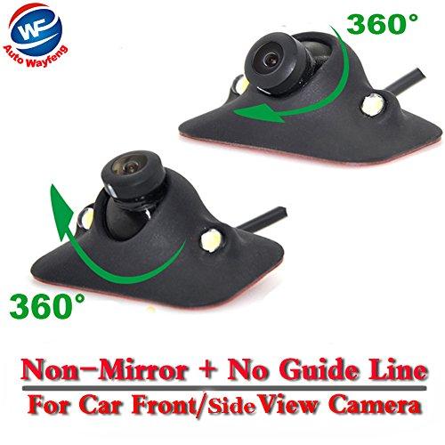 Auto Wayfeng WF® HD CCD Nachtsicht 360 Grad Auto Front Kamera Vorderansicht Seitenumkehr Backup Kamera 2LED - Ccd-auto-kamera