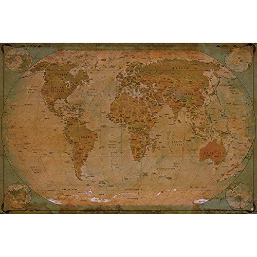 Mapa mural XXL