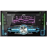 JVC KW-R910BTE - Radio para coches (reproducción CD y DVD, USB, Bluetooth), negro (importado)