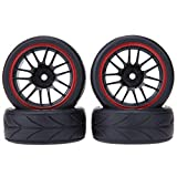Domybest 4 RC 1/10 Universal Car Racing Felge Reifen Offroad Truck Car Buggy Tire