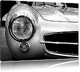 Dark Mercedes rouge 6.3 image sur la toile Benz S, énorme XXL Photos complètement encadrée avec civière, art impression sur murale avec cadre, moins cher que la peinture ou de l'image, aucune affiche ou un poster taille: 120x80 cm