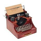 Kitchnexus - Mini carillon, motivo: macchina da scrivere, stile Vintage Machine À Écrire