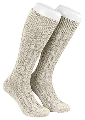 Trachten Socken Gr:- (46 EU), Farbe:- Beige