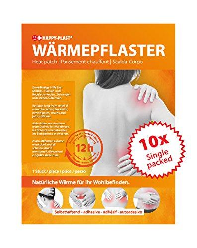 10x Wärmepflaster, Körperwärmer, Schmerzpflaster, bis zu 12 h Wärmedauer