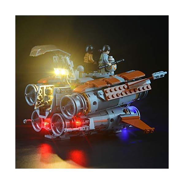 Lightailing Set di Luci per (Star Wars Quadjumper Di Jakku) Modello da costruire - Kit luce led compatibile con Lego… 3 spesavip