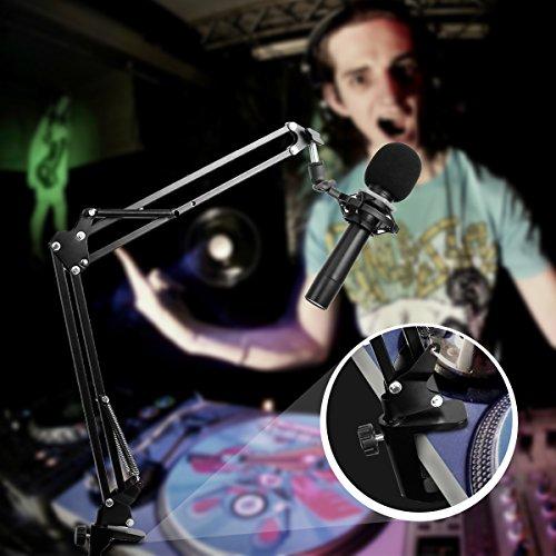 durable-support-de-microphone-pliante-reglable-pied-de-micro-weinas-pour-enregistrement-radiodiffusi