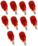 Aerzetix: 10 x Glühbirne wy16 W T15 12 V 16 W bernsteinfarben orange