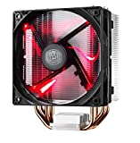 Cooler Master Hyper 212 LED Ventilateurs de processeur '4 Heatpipes, 1x ventilateur 120mm PWM, LED Rouge' RR-212L-16PR-R1