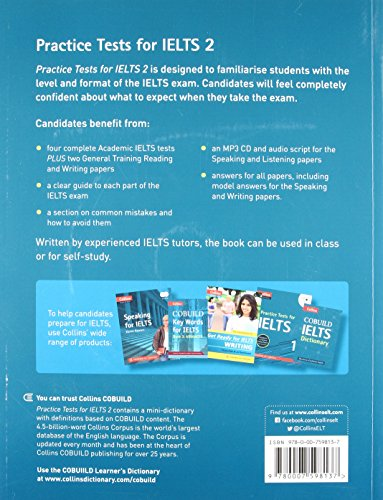 Practice Tests for IELTS 2 (Collins English for IELTS) - Buy