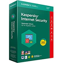 Kaspersky Internet Security 2018 Standard, 3 Geräte, 1 Jahr, Windows/Mac/Android, Download